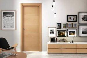 puerta de paso de madera alcorcon
